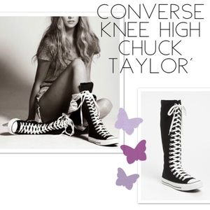 CONVERSE All-Star Lace-up Knee High Sneakers